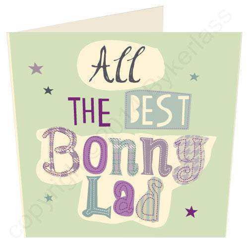 All The Best Bonny Lad | Geordie Card