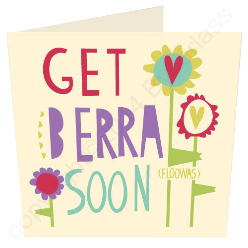 Geet Berra Soon | Geordie Card