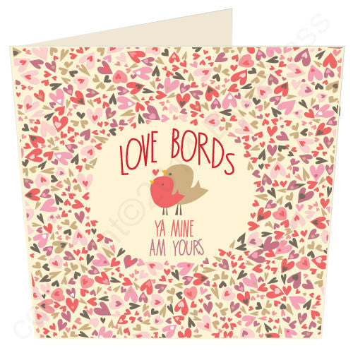 Love Bords - Ya Mine Am Yours | Geordie Card