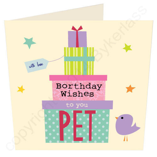 Borthday Wishes To You Pet | Northumbrian Card