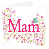 Mam - Flowers & Birdies | Geordie Card | Tyneside Prints