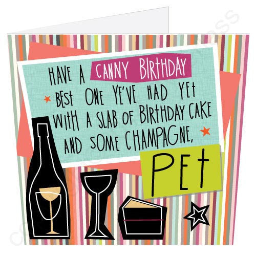 Have A Canny Birthday... Pet | Geordie Card