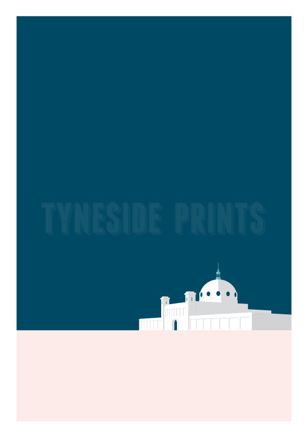 Spanish City - Whitley Bay Greeting Card | Greeting Card