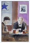 Pre Match Pint | Newcastle United Card | Tyneside Prints