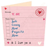 Ye Are Geordie Options I Luv Ye Card | Tyneside Prints