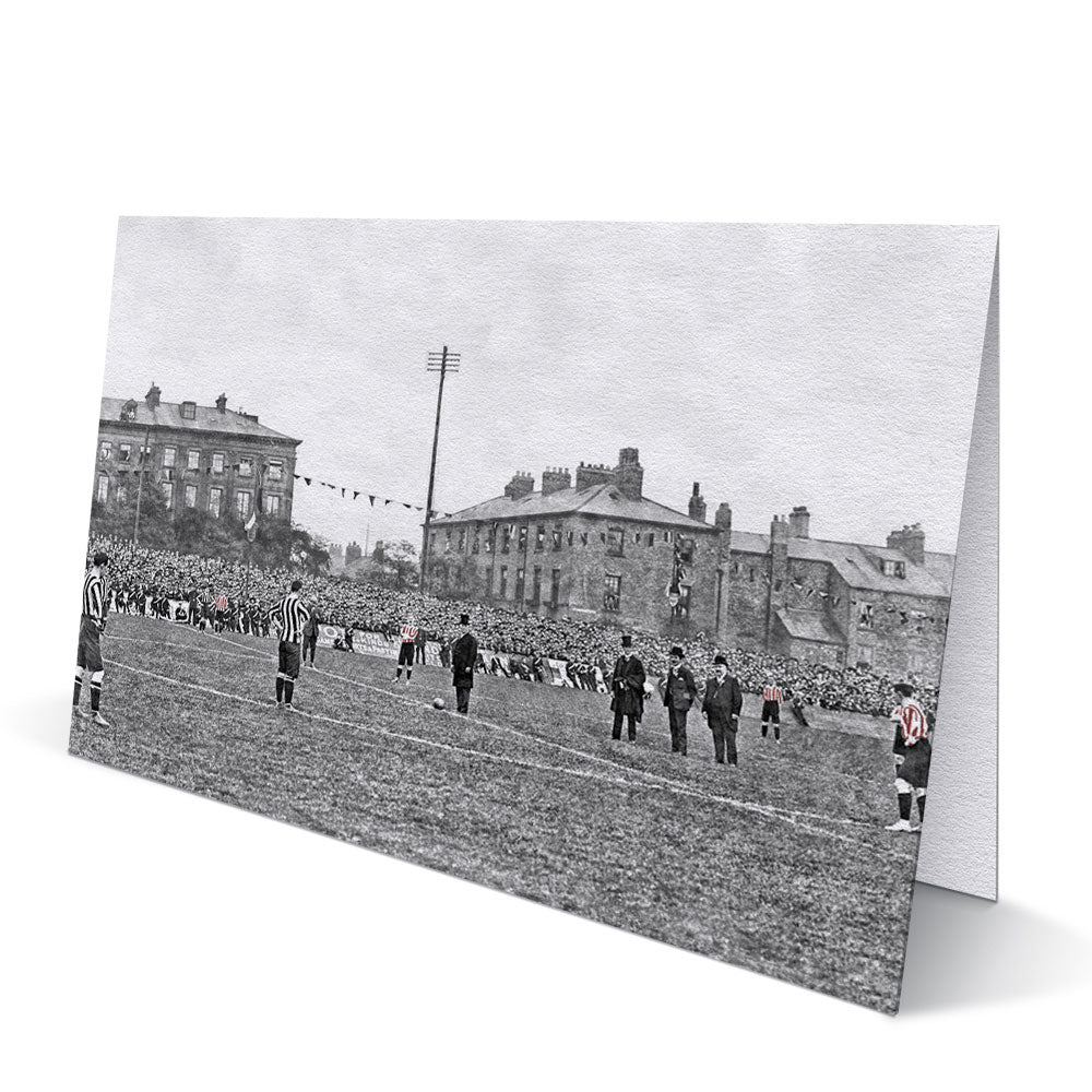 Newcastle United v Sunderland 1904 - Greeting Card