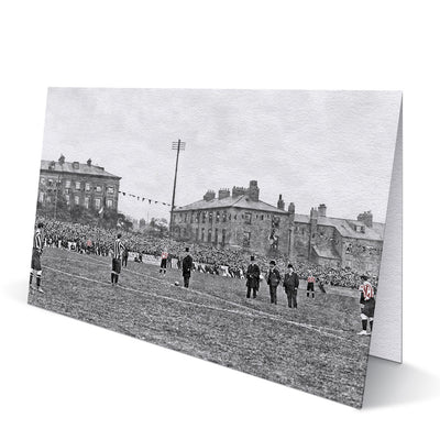 Newcastle United v Sunderland 1904 Greeting Card