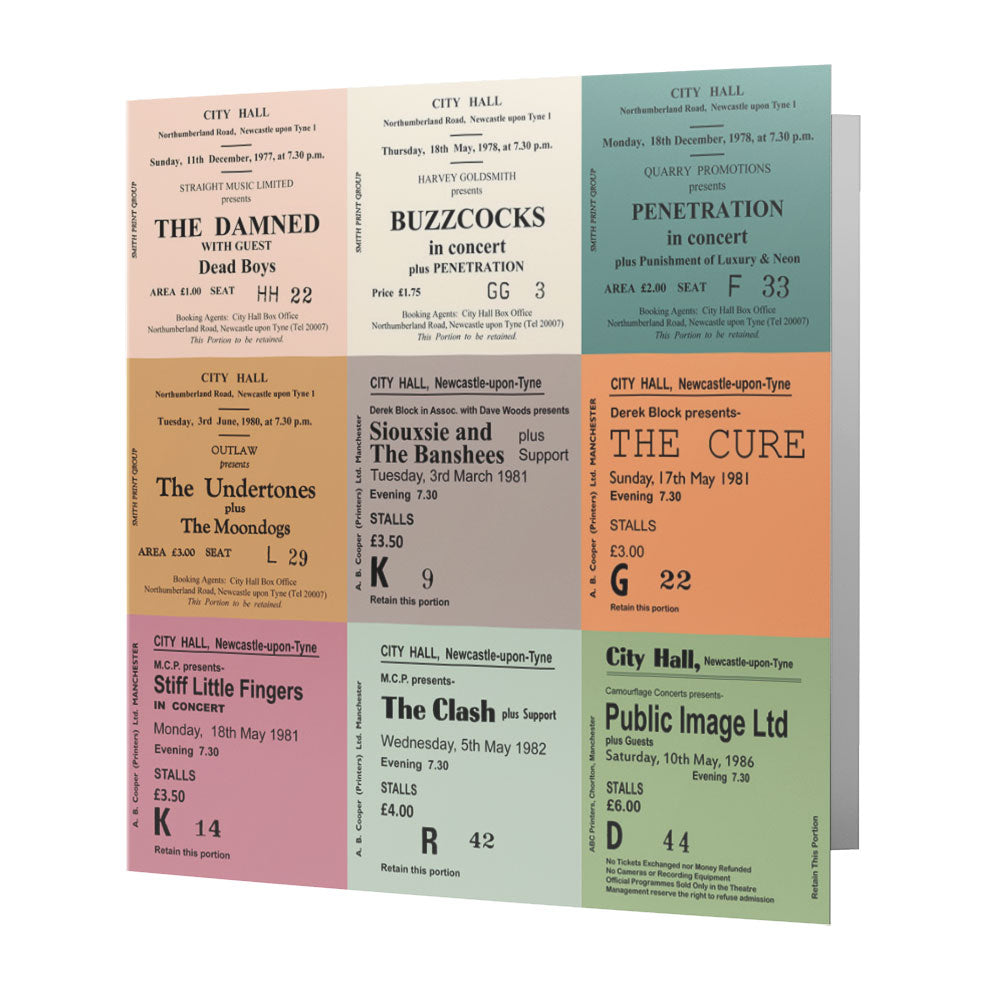 Newcastle City Hall Tickets - Punk - Card
