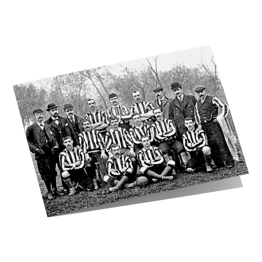 Newcastle United Team 1895 Greeting Card