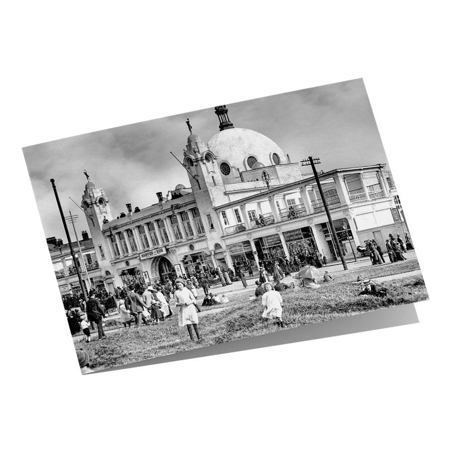 Spanish City Whitley Bay 1913 Greeting Card