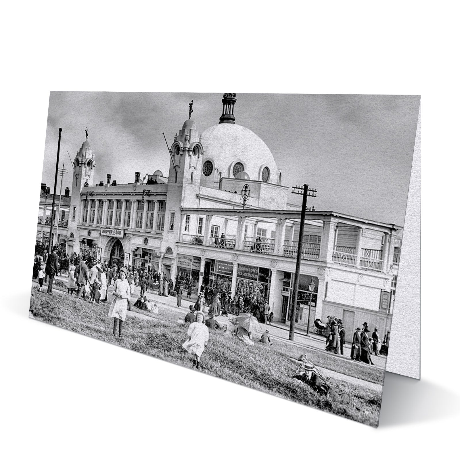 Spanish City Whitley Bay 1913 - Greeting Card