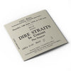 Dire Straits Newcastle City Hall Ticket Card
