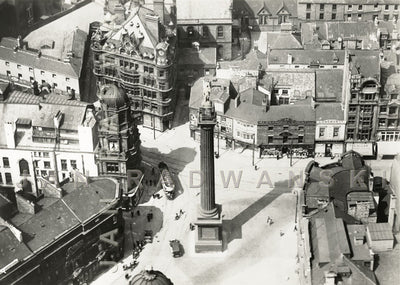 Greys Monument Newcastle (1922) | Front View | Greeting Card