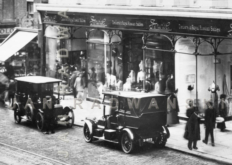 Fenwicks Northumberland St Newcastle (1916) | Greeting Card