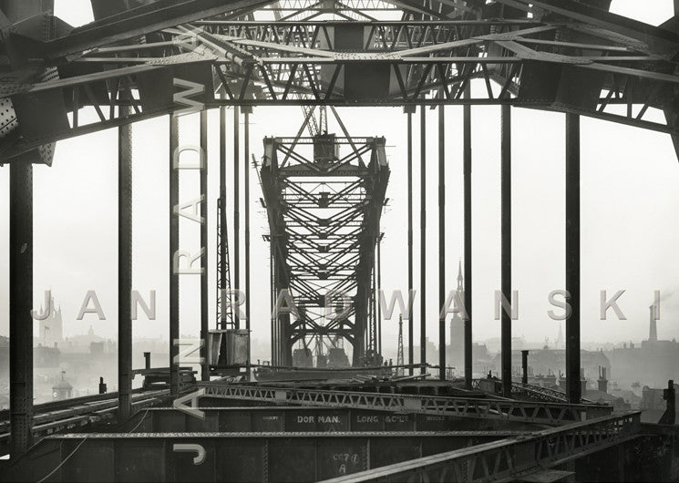 Newcastle Skyline Tyne Bridge (1928) | Front View | Greeting Card