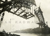Tyne Bridge Arching Towards Gateshead (1928) | Front View | Greeting Card