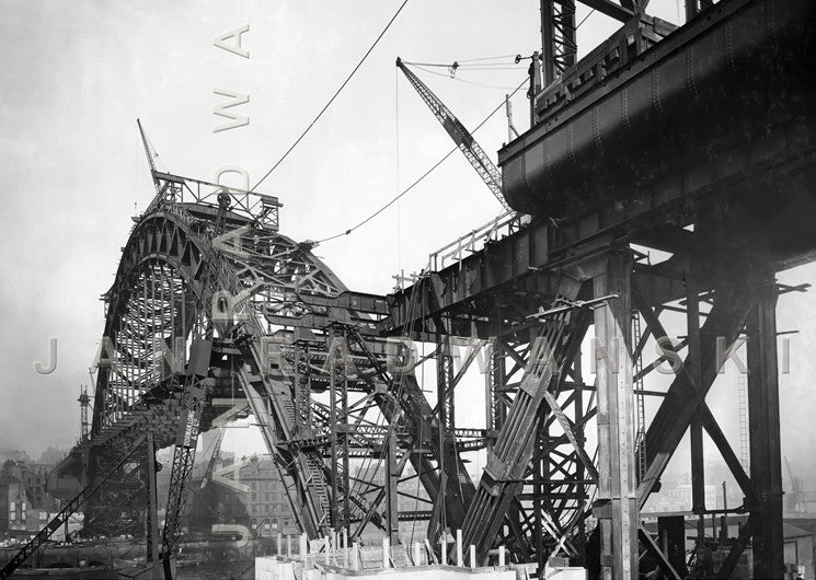 Tyne Bridge In Its Structural Glory | Greeting Card