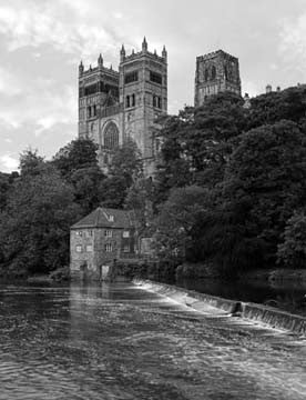 Durham Cathedral | Black & White Photographic Print | Tyneside Prints