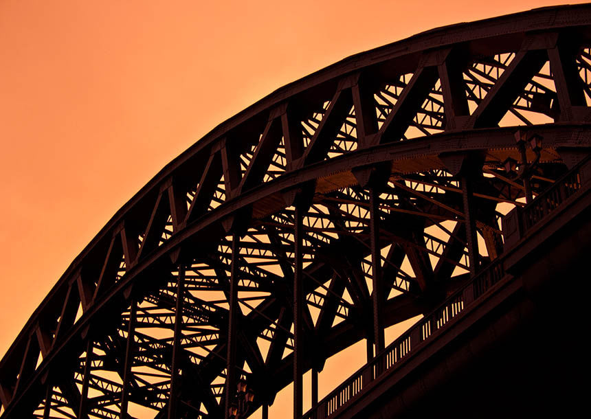 Evening Glow | Tyne Bridge Photographic Print