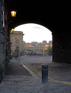 High Level Bridge Through The Arch | Colour Photographic Print | Tyneside Prints
