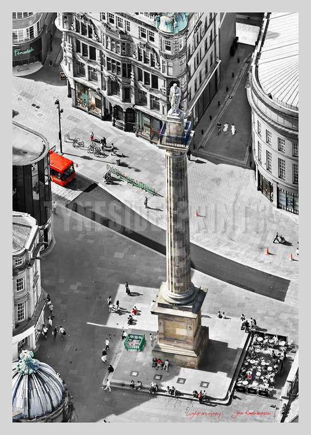Grey's Monument Newcastle - Poster