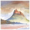 Lindisfarne Castle | Northumberland | Greeting Card | Tyneside Prints
