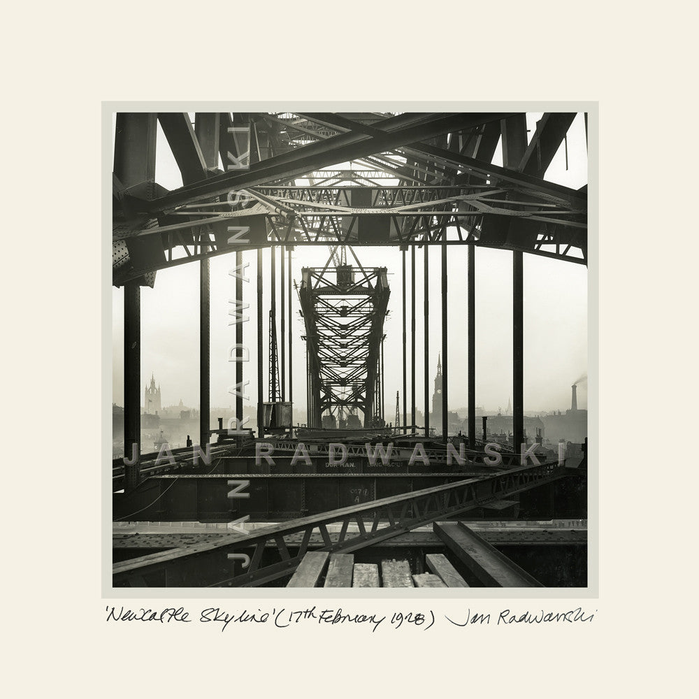 Newcastle Skyline Tyne Bridge (1928) | Mounted Fine Art Print