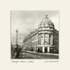 Grainger Street Newcastle (1885) | Size 2 [S] 320mm x 320mm | Mounted Fine Art Print