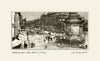 Looking Down Grey Street Newcastle (1900) | Size 1 [P] 330mm x 200mm | Mounted Fine Art Print