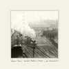 Steam Train Central Station Newcastle (1924) | Size 1 [S] 250mm x 250mm | Mounted Fine Art Print