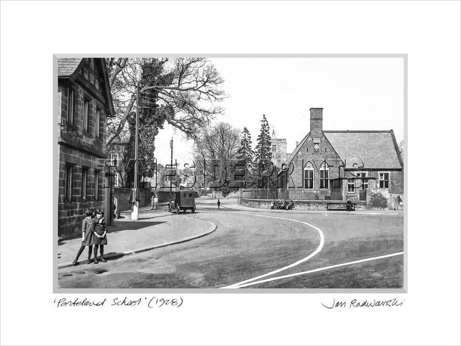Ponteland School 1928 Mounted Fine Art Print