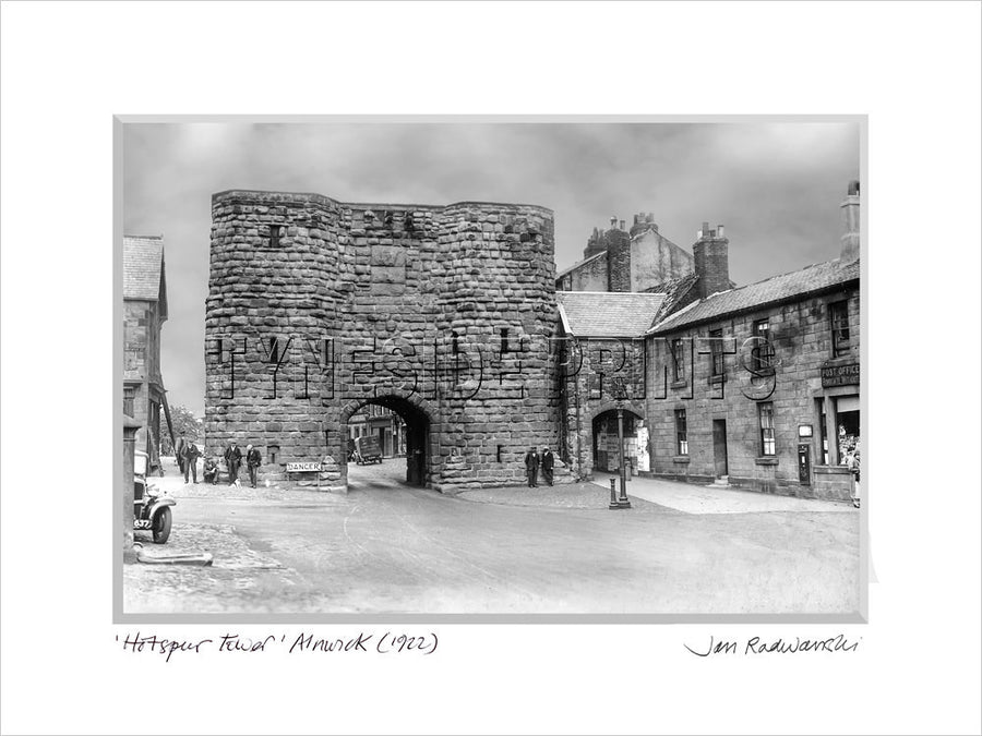 Hotspur Tower Alnwick 1922 Mounted Fine Art Print