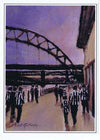 Quayside | Newcastle United Card | Tyneside Prints