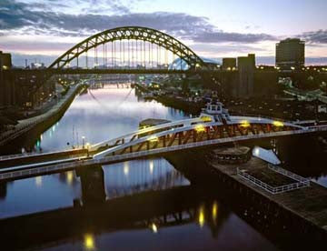 Tyne Bridge & Swing Bridge | Colour Photographic Print