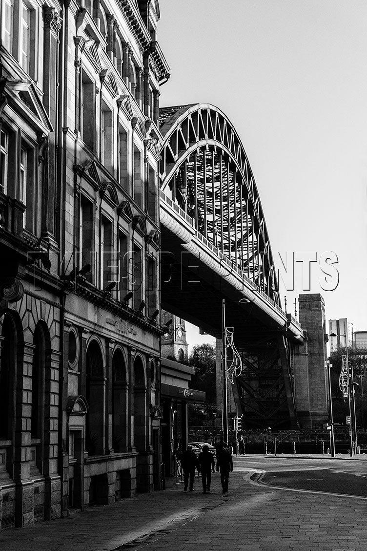 Tyne Bridge From Sandhill - Photographic Print