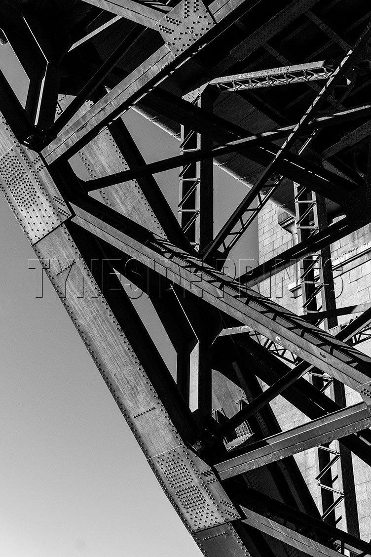 Under The Tyne Bridge Photographic Print
