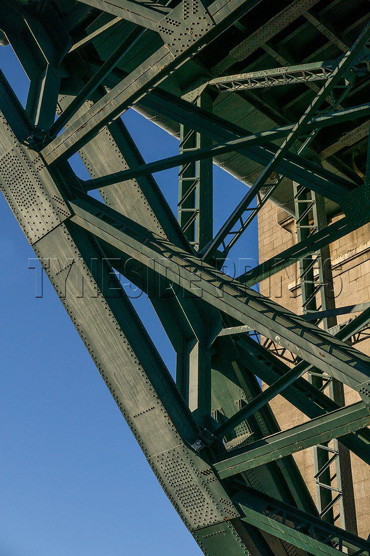 Under The Tyne Bridge - Photographic Print