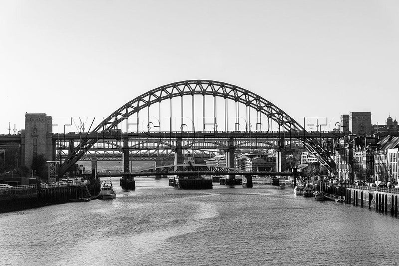 Bridges Over The Tyne Photographic Print