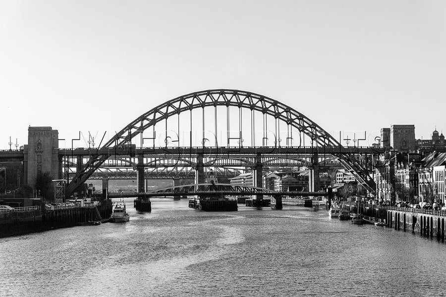 Bridges Over The Tyne - Photographic Print