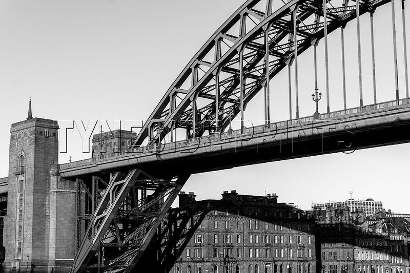 Tyne Bridge Quayside Photographic Print