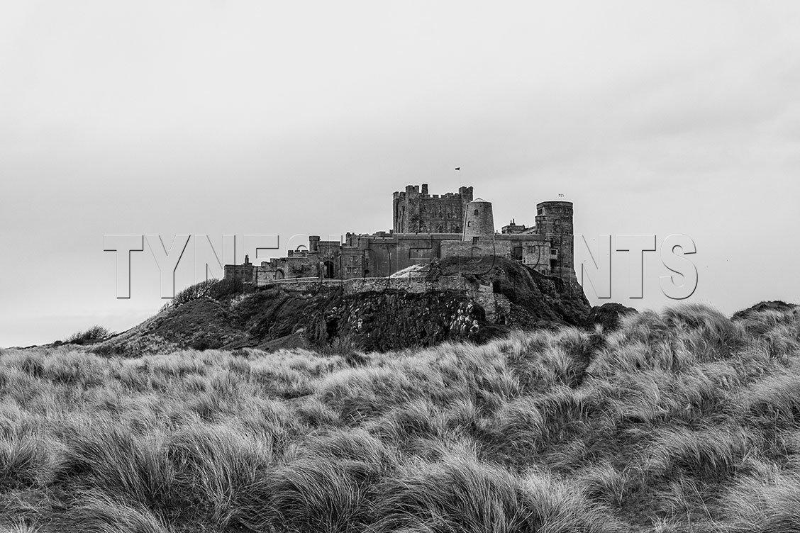 Bamburgh Caste Photographic Print