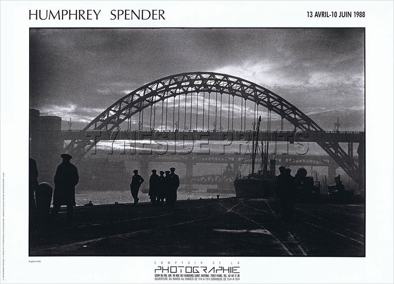 Tyneside Unemployed 1936 Humphrey Spender Original Exhibition Poster