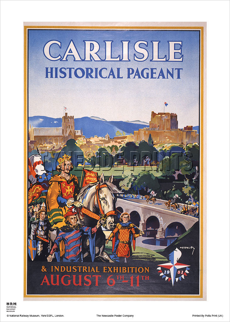Carlisle Historical Pageant Travel Poster