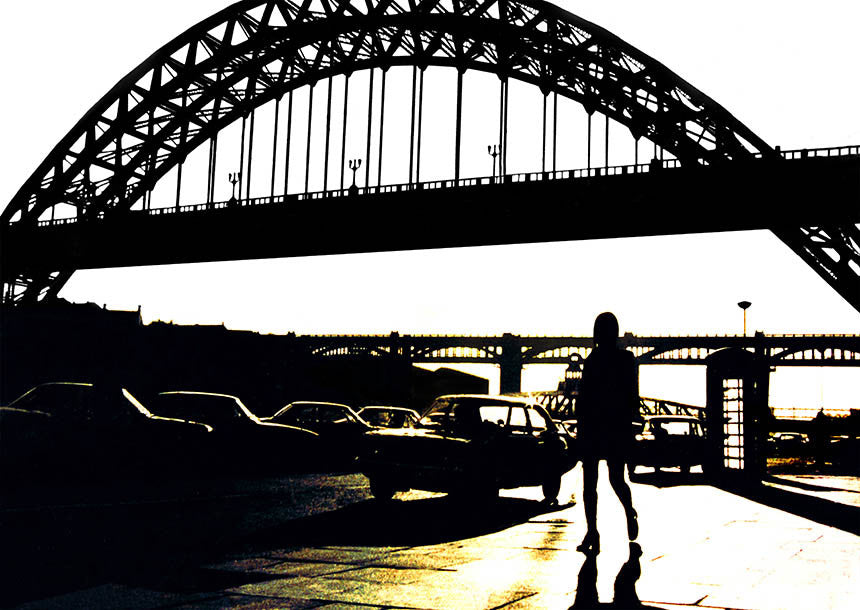 Seventies Sunshine | Newcastle Quayside Tyne Brdige Photographic Print