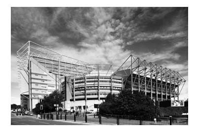 St. James' Park | Photographic Card | Newcastle | Tyneside Prints