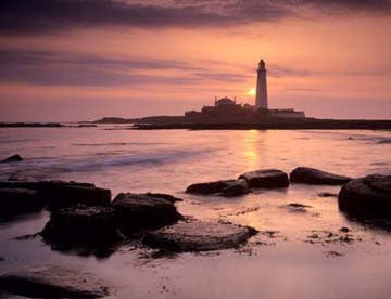 St Mary's Lighthouse | Whitley Bay | Colour Photographic Print