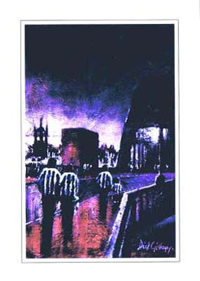 Toon Bridge | Newcastle United Card | Tyneside Prints