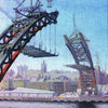 Building Of The Tyne Bridgel | Newcastle Upon Tyne | Greeting Card | Tyneside Prints