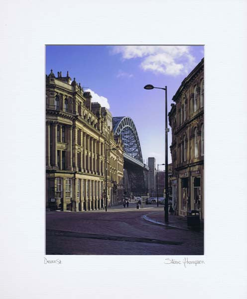 Tyne Bridge | Colour Photographic Mounted Print | Tyneside Prints