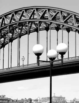 Tyne Bridge | Black & White Photographic Print